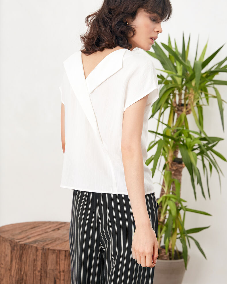 Top mit Rückendekolleté Off white Fevrier