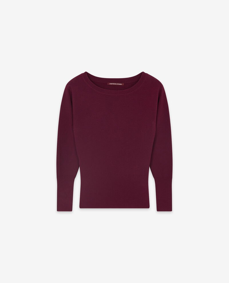 Rundkragenpullover Purple Dorianite