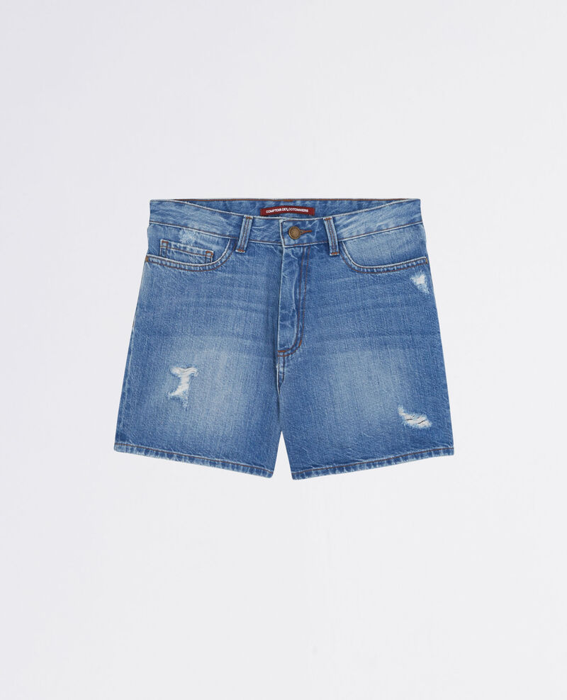 Shorts aus Jeans Bleach blue Celebration