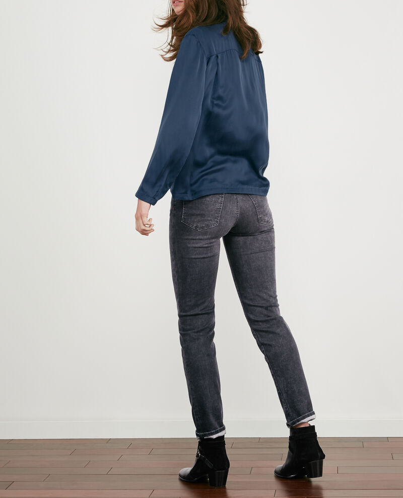 Jeans in Zigarettenform Dark grey Douvrir