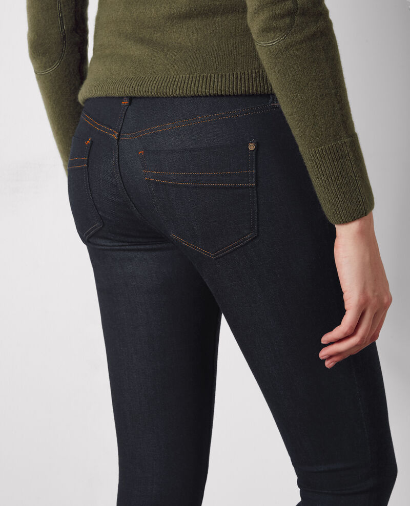 "Slim-Jeans ""Ma demoiselle"" Dark blue Codetta"