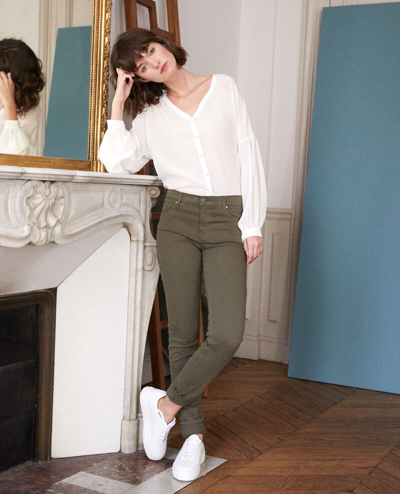 Slim-Jeans OLIVE NIGHT