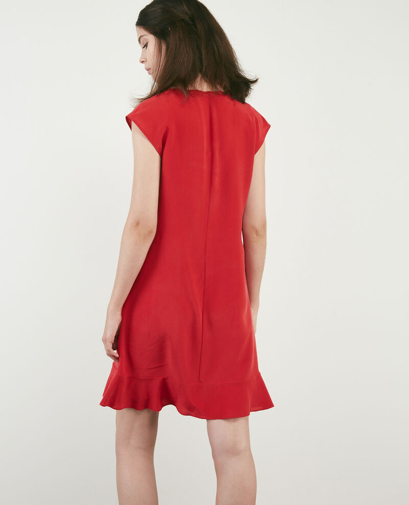 Seidenkleid Chili pepper Dalienor