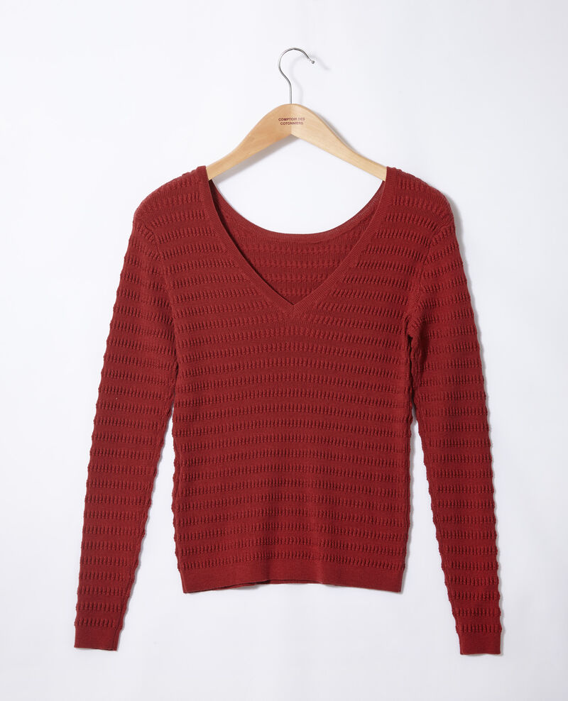 Wendebarer Pullover Cowhide Grant