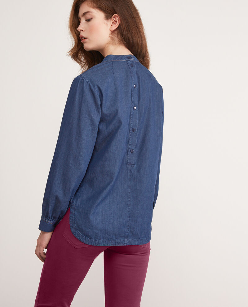 Bluse aus Denim Light denim Darhaix
