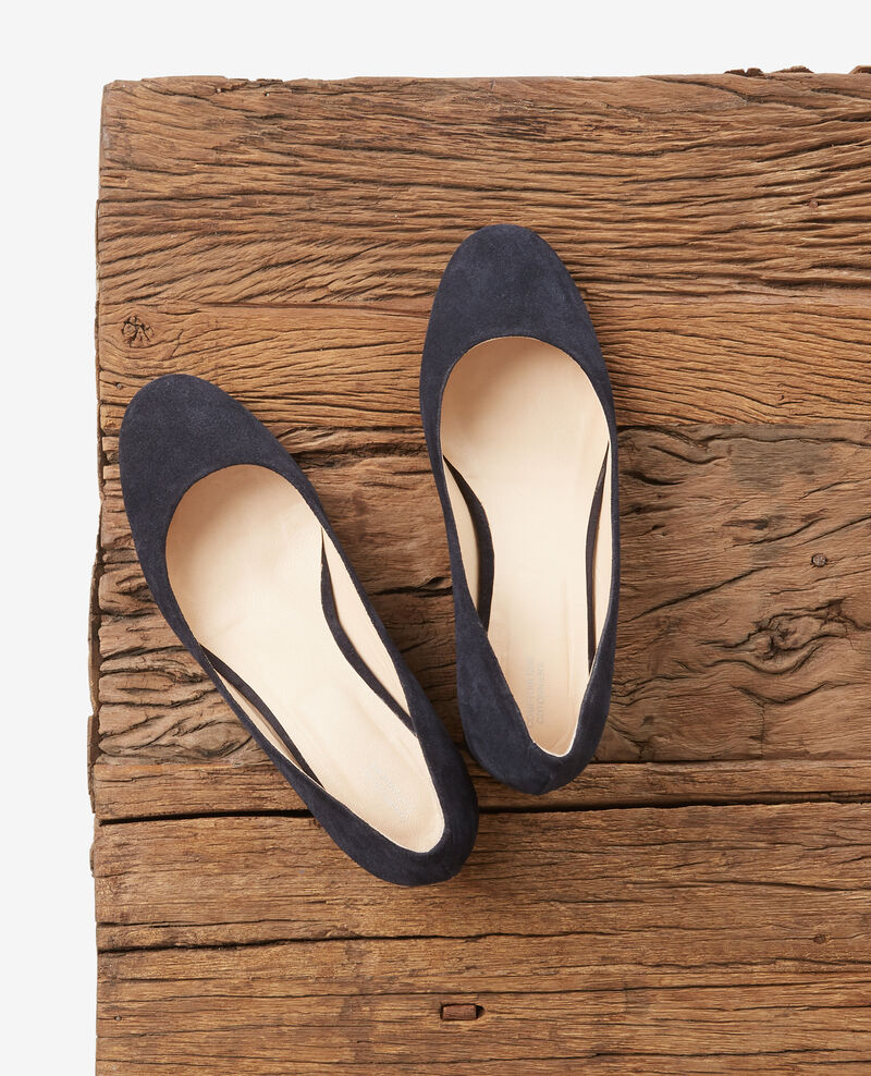 Pumps aus Wildleder Navy Debabies