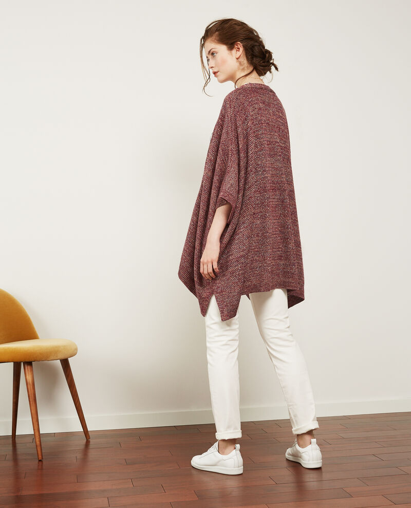 Cardigan mit Lurexdetails Purple/lurex Denada