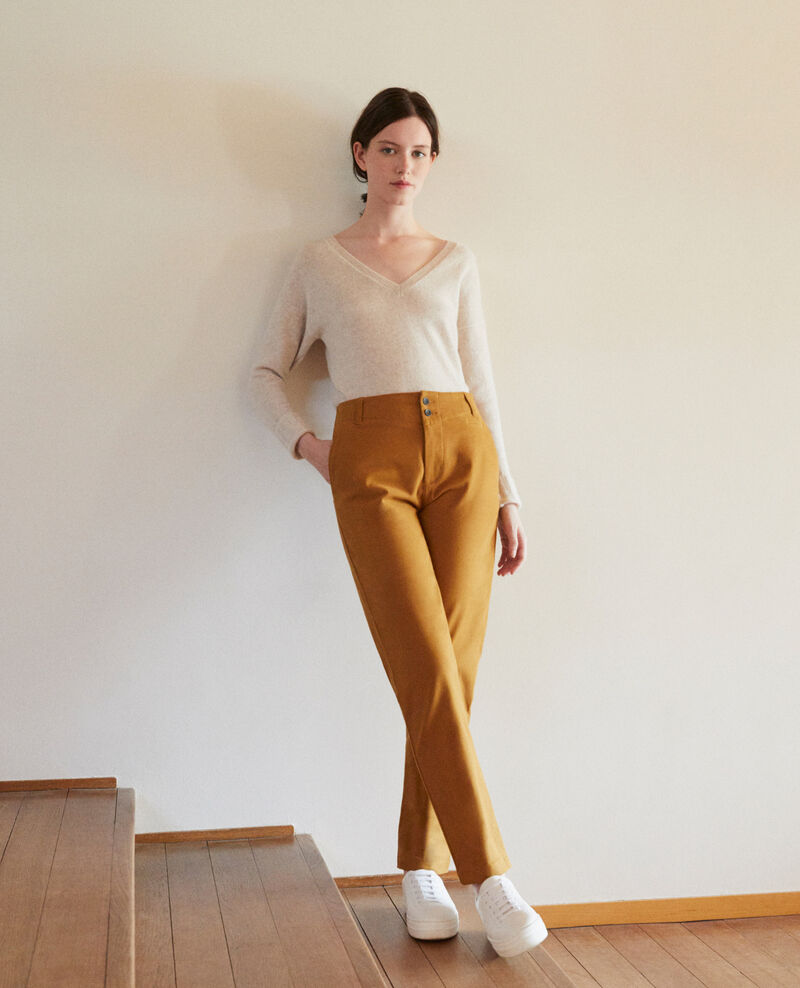 Chino-Hose GOLDEN BROWN