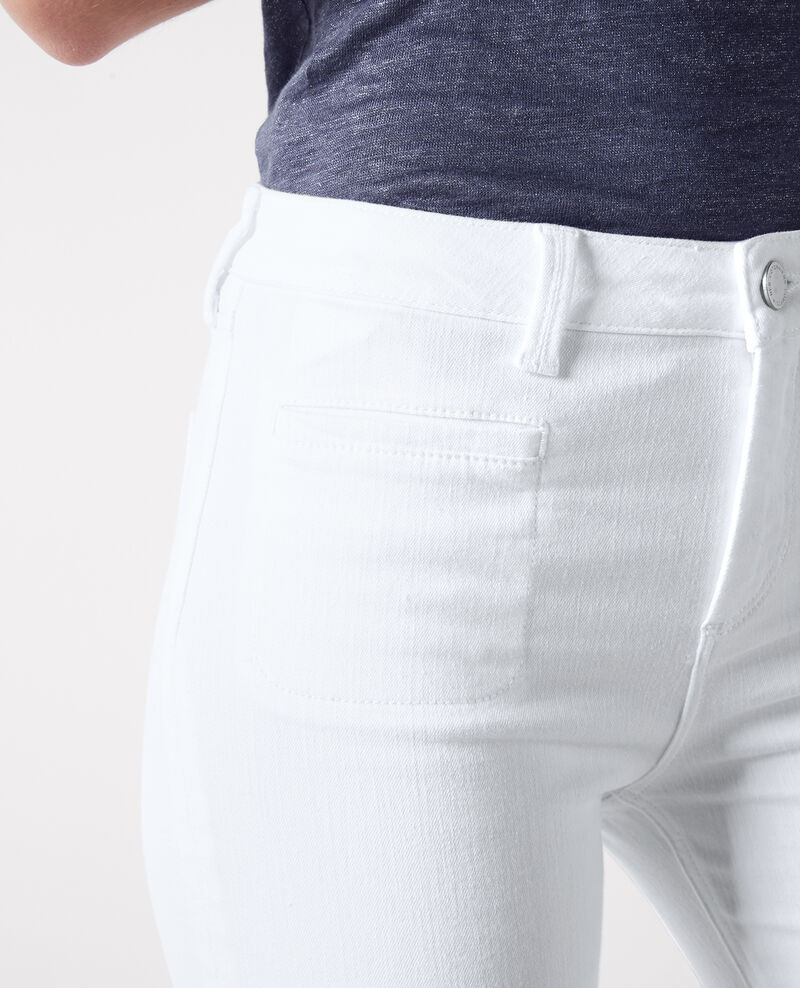 "Flare-Jean s""Folie douce"" mit hoher Taille  Off white Capetown"