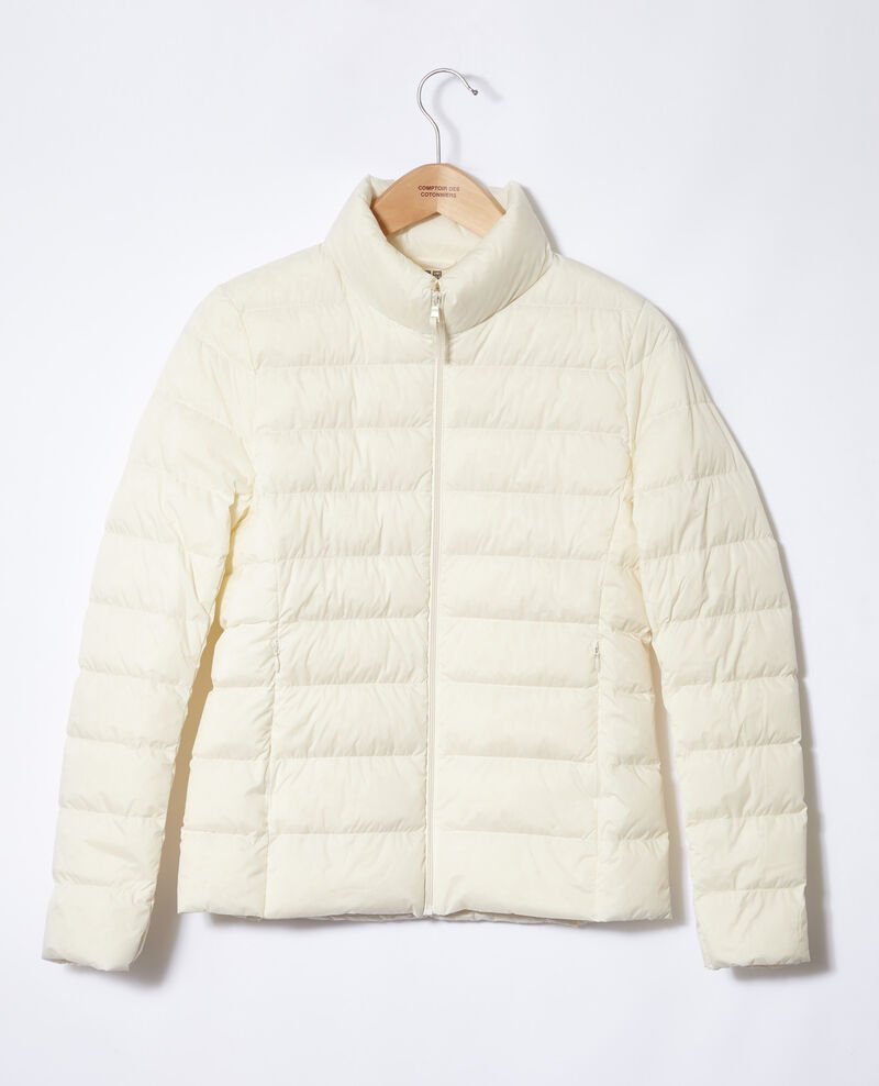 Ultra light Daunenjacke mit Stehkragen Off white Fuldown