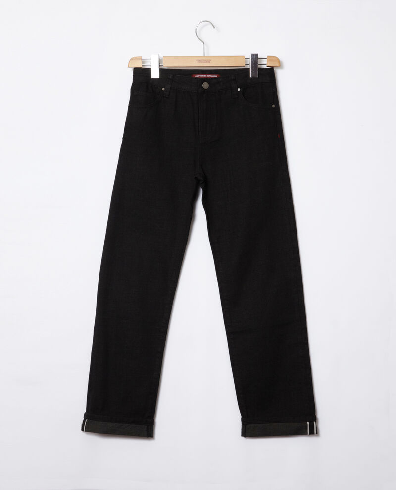 Real Straight-Jeans Noir Goberta