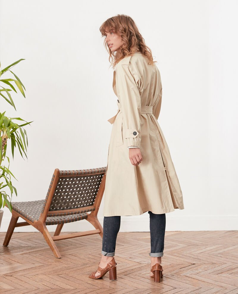 Loose fitTrenchcoat Tan Fleur