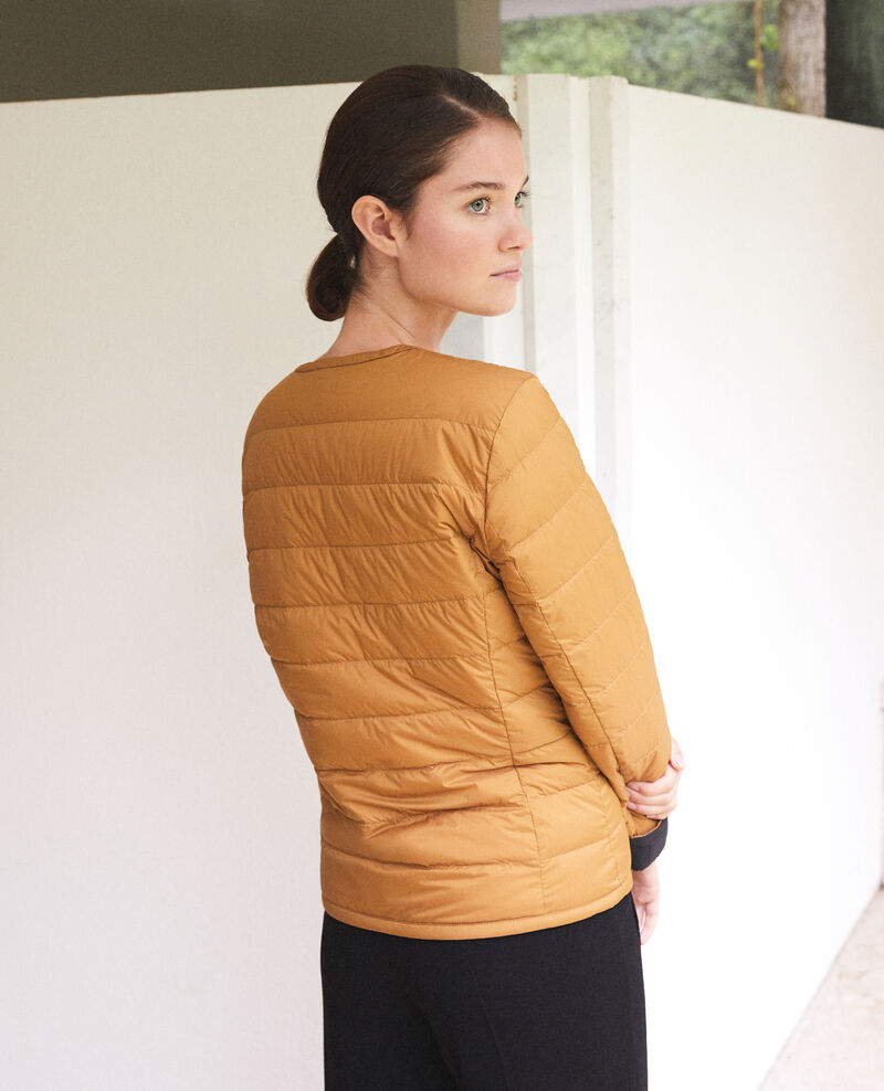 Wendebare Jacke Mademoiselle Plume Ad golden brown Gallopou