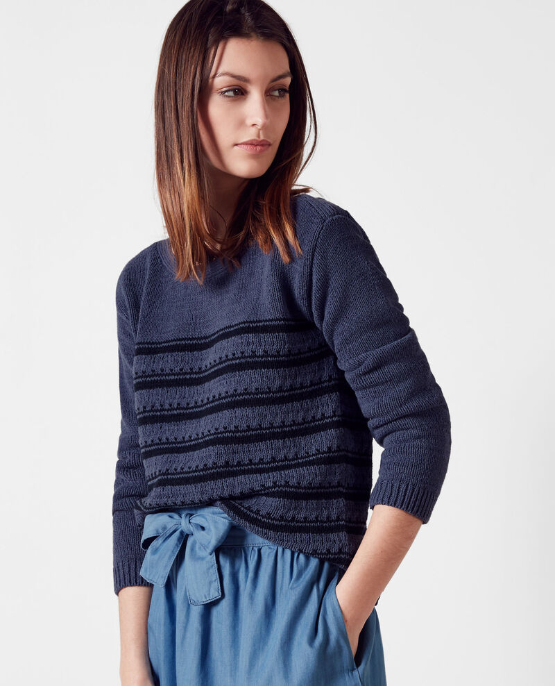 Pullover im Marinelook Ink blue/midnight Cosette