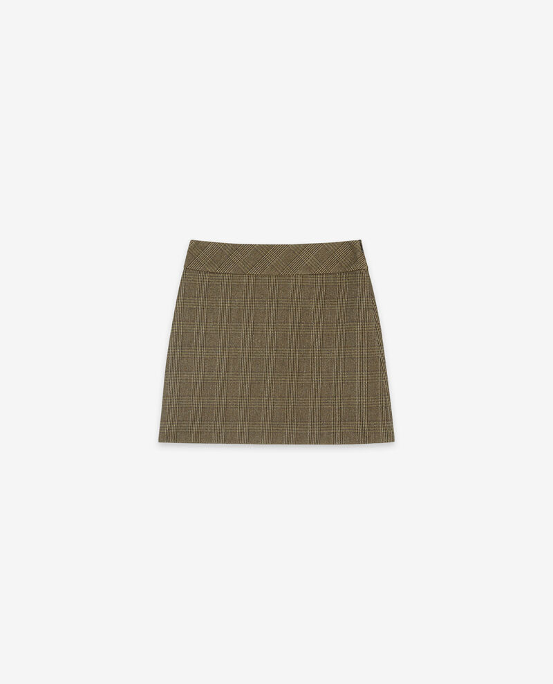 Rock aus Tweed Prince of Wales Chamois Dastelnau