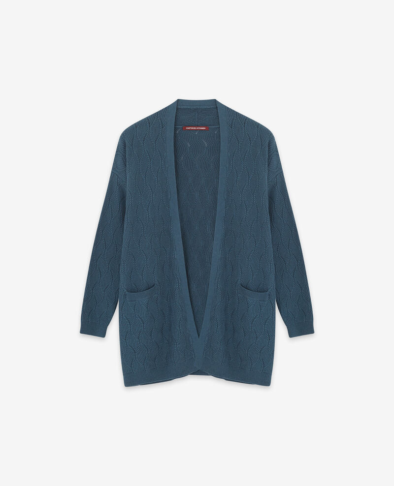Langer Cardigan Denim Doatigan
