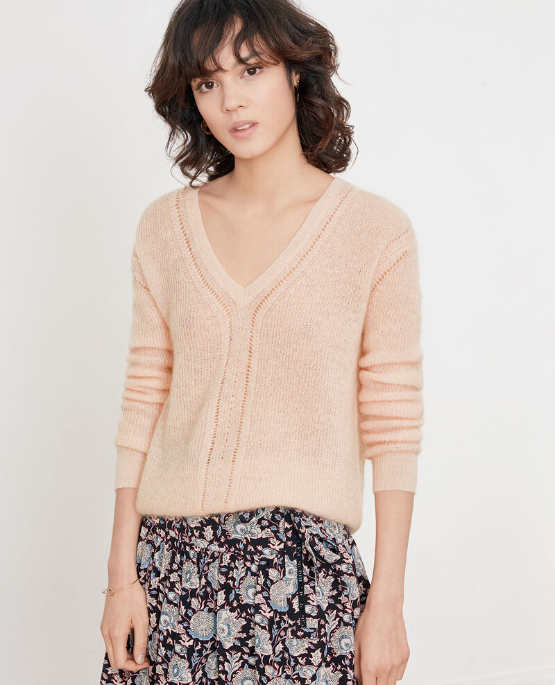 Pullover mit Mohair Nude Feever