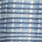 Halblanges Kleid aus Leinen Tie&dye washed blue Fieto
