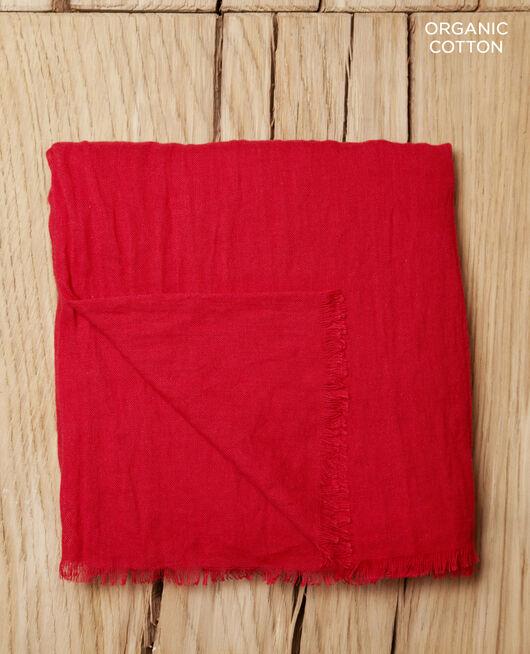 Tuch aus Organic Baumwolle Rouge