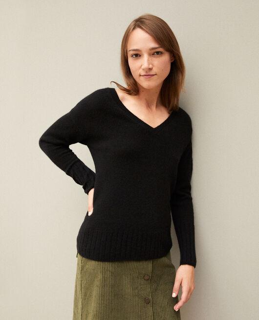 Pullover aus Kaschmir NOIR
