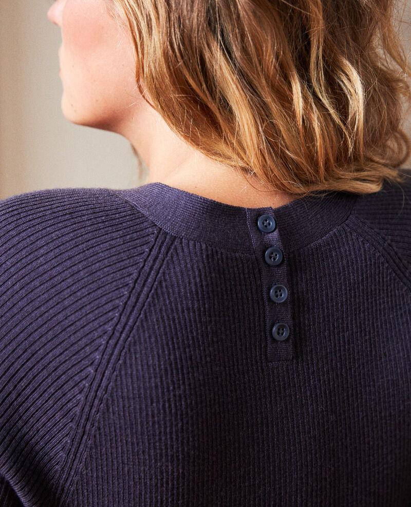 Pullover mit Knöpfen im Rücken Odyssey gray Jemossa