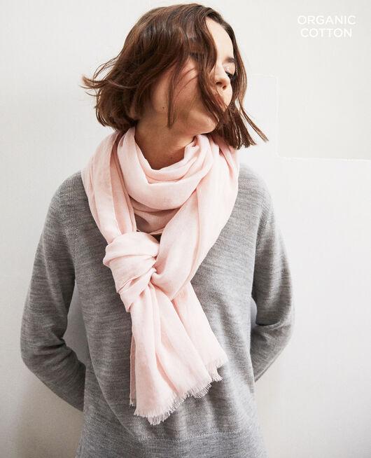 Tuch aus Organic Baumwolle Rose