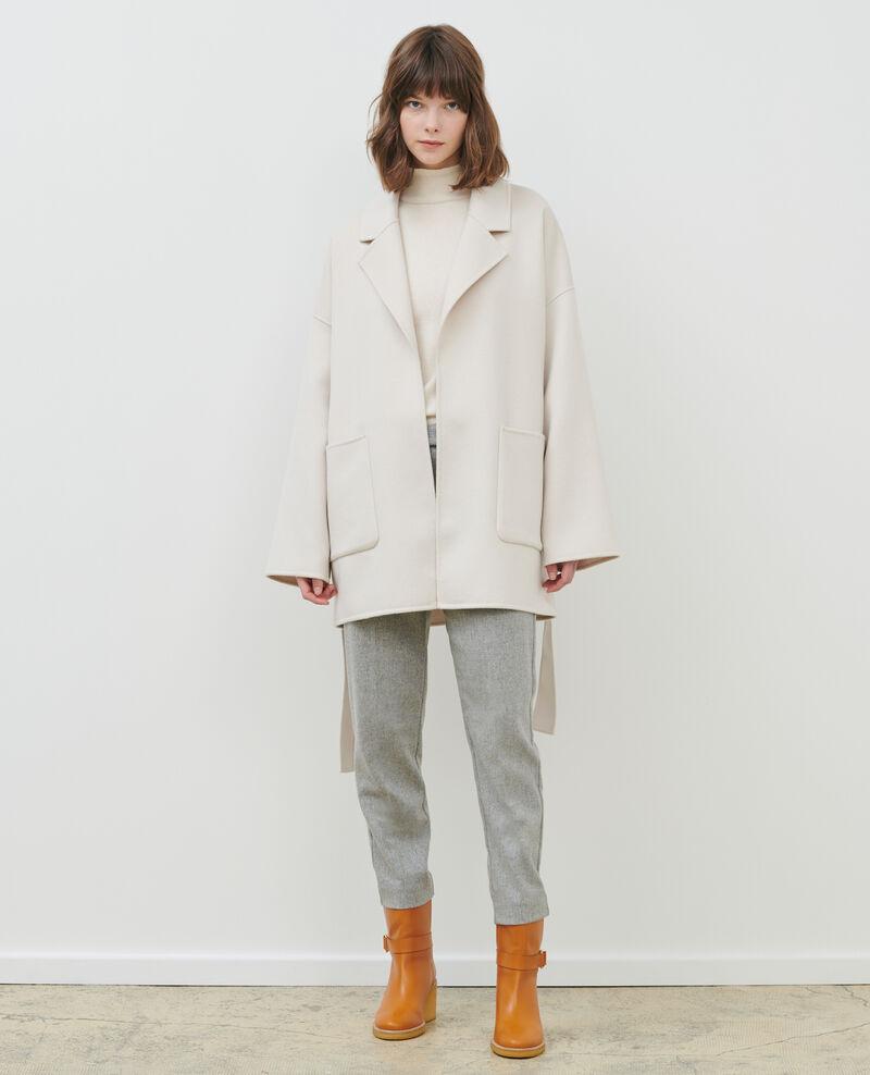Doppelseitiger Woll- und Kaschmirmante Rainy day Pantin