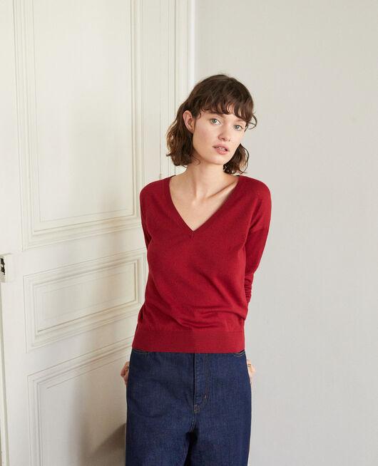 Pullover aus Merinowolle RIO RED
