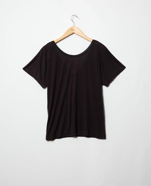 Comptoir des Cotonniers - t-shirt col v dans le dos - 2