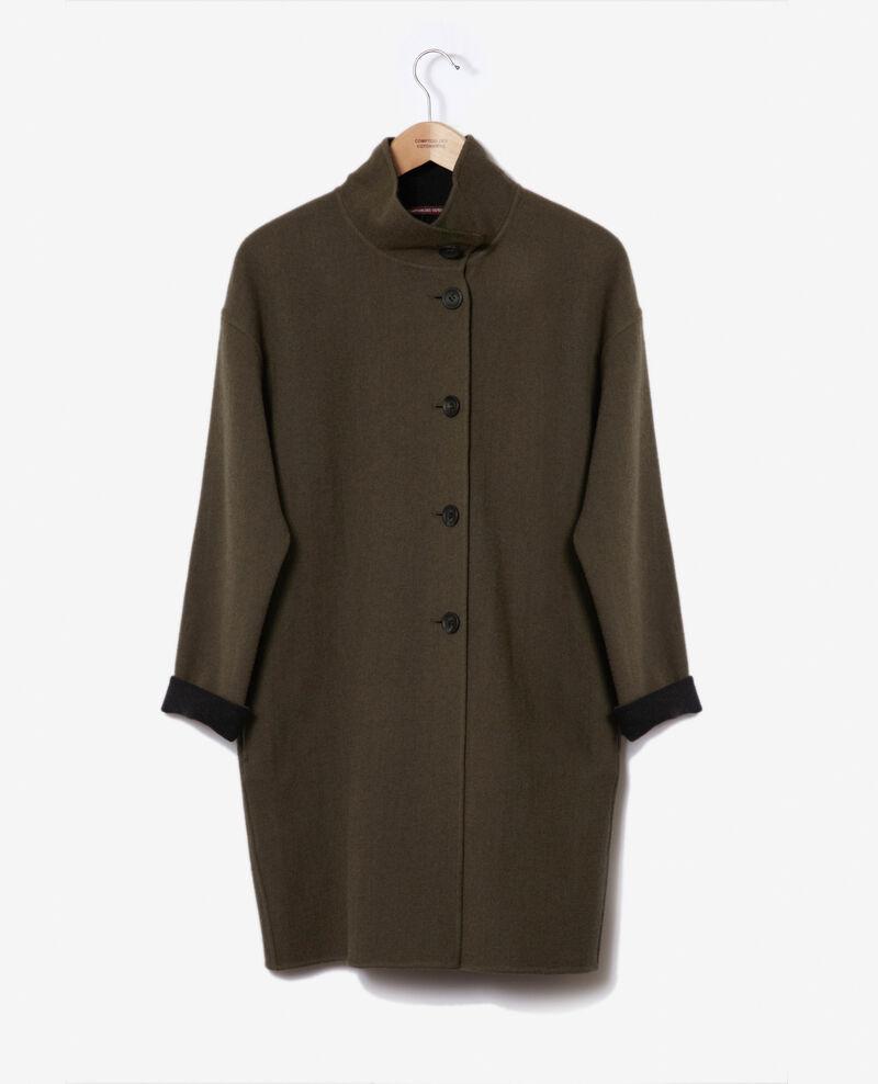 Mantel mit Stehkragen Olive night Gexpresso