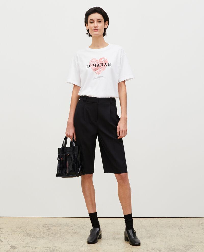 T-Shirt aus Baumwolle mit kurzen Ärmeln Valiant poppy Mia