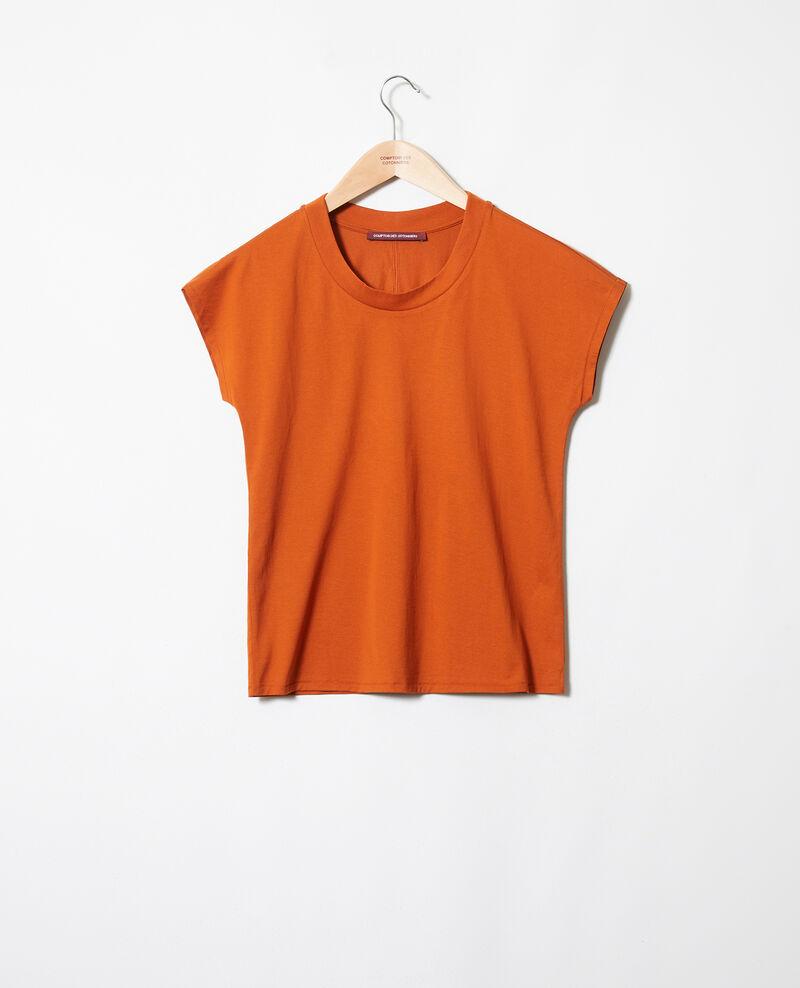 Zeitloses T-Shirt Umber Joya