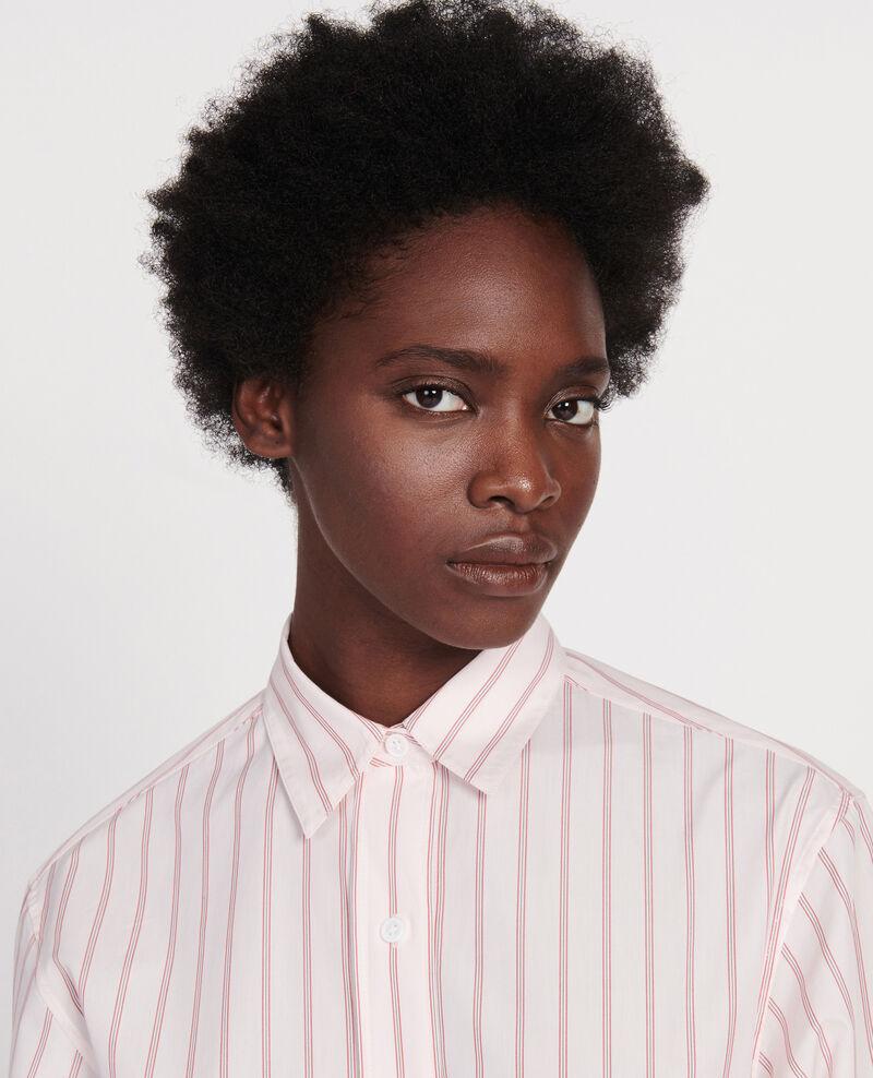 Klassische Bluse aus Popelin Popeline stripe3 Labilo