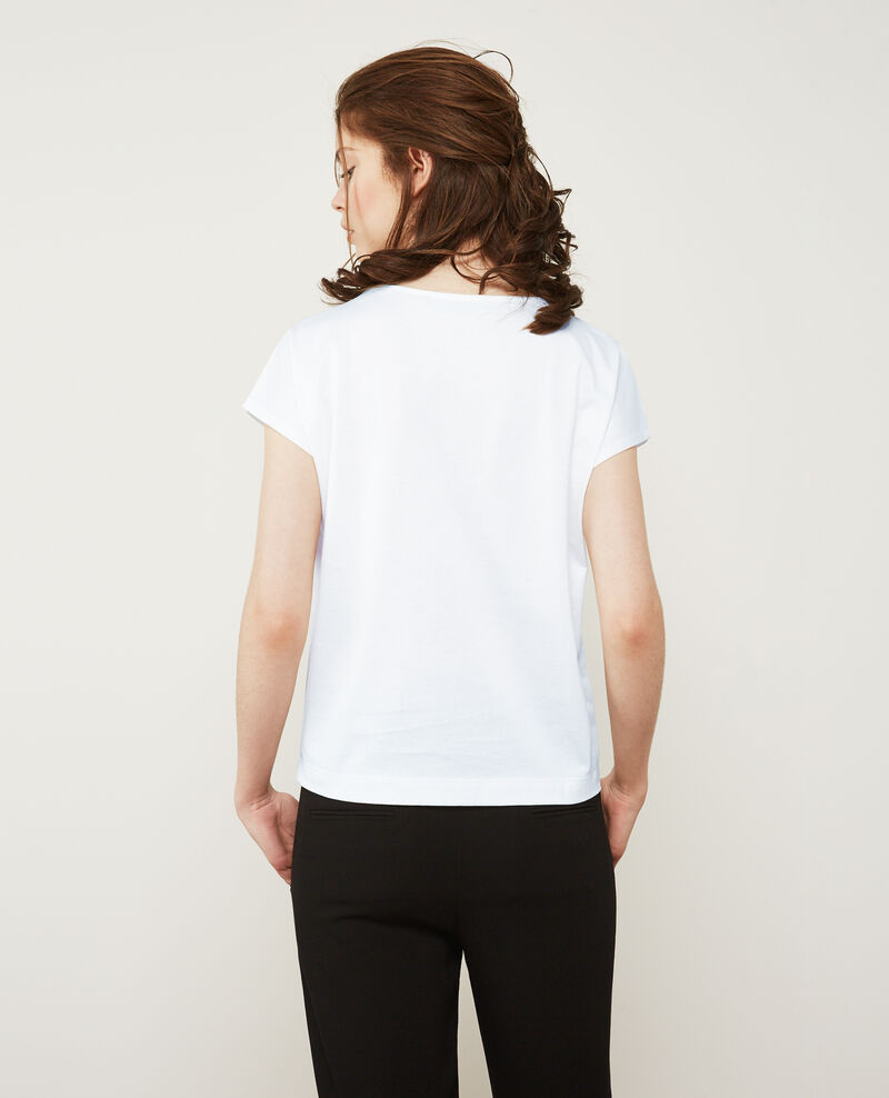 T-Shirt Blanc Dais