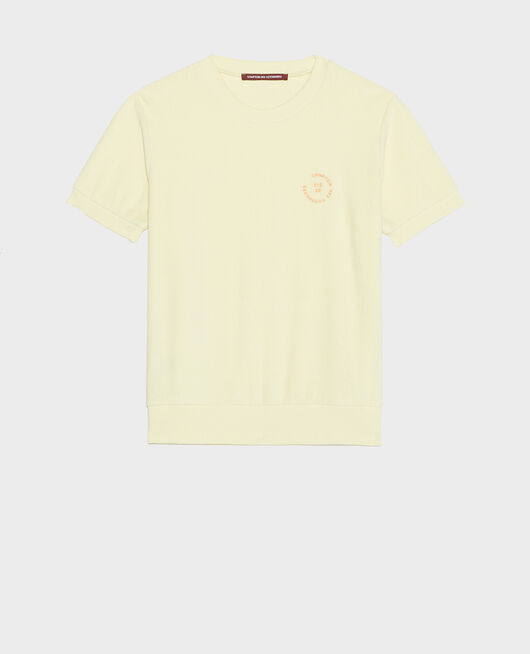 T-Shirt aus Baumwolle TENDER YELLOW