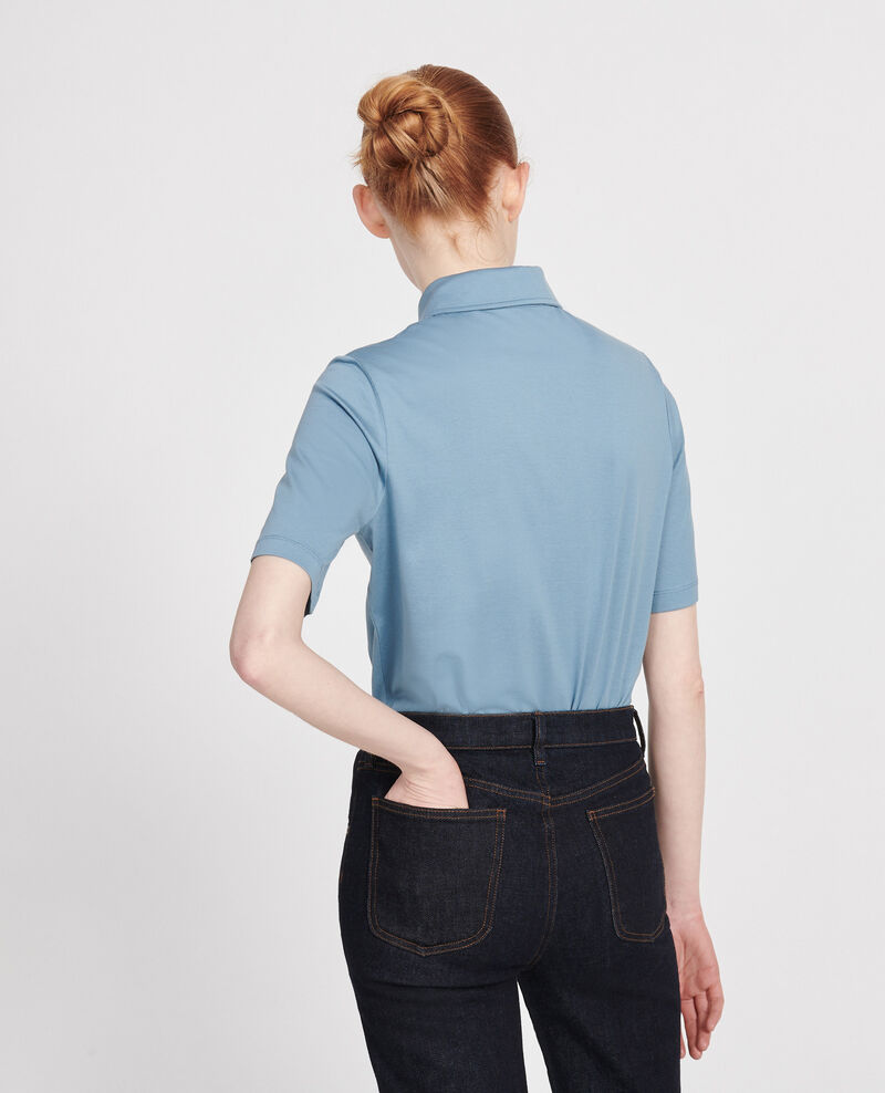 Polo-Shirt aus Baumwolle Bluestone Levas