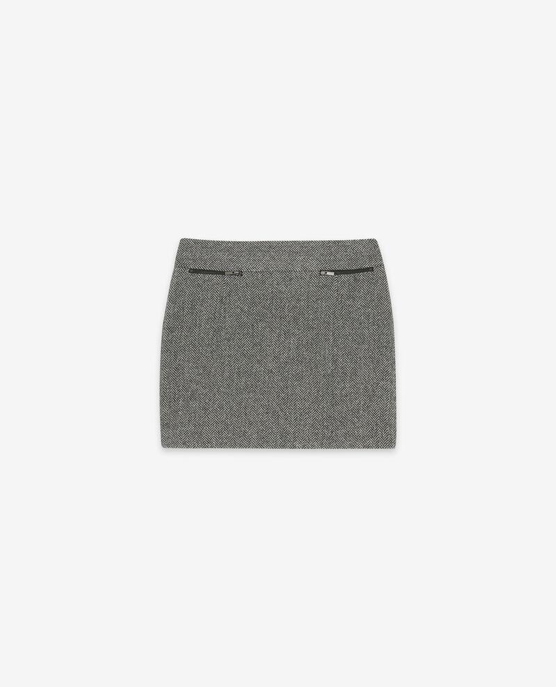 Wolltweed-Rock Medium heather grey Doucoup