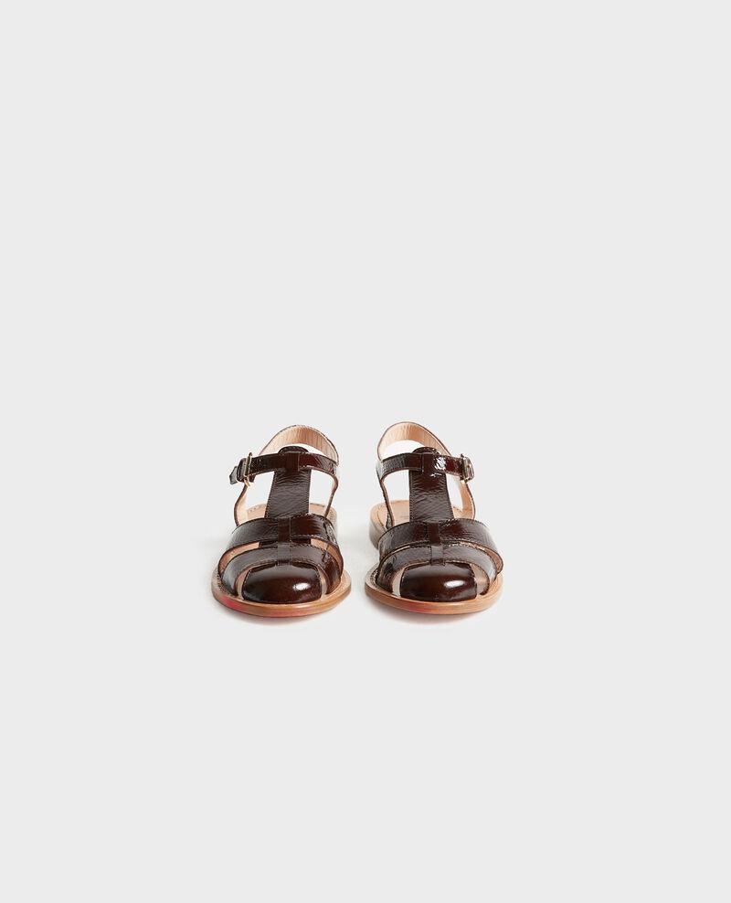 Sandalen aus Lackleder Mole Lapiaz