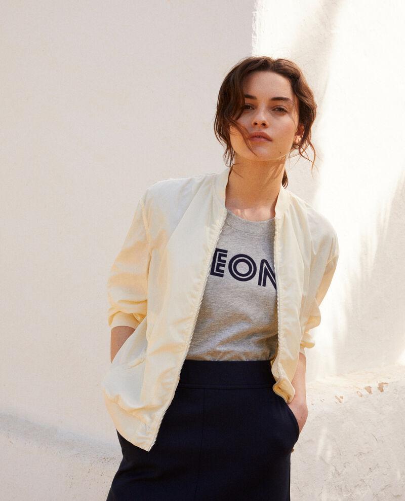 Veste imperméable de style bombers Blanc Illica