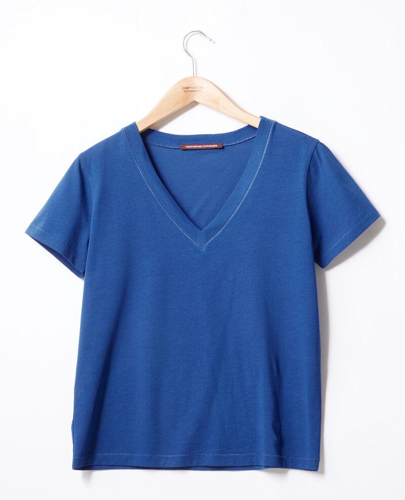 T-Shirt mit Leon-Motiv Ultra marine Fallen