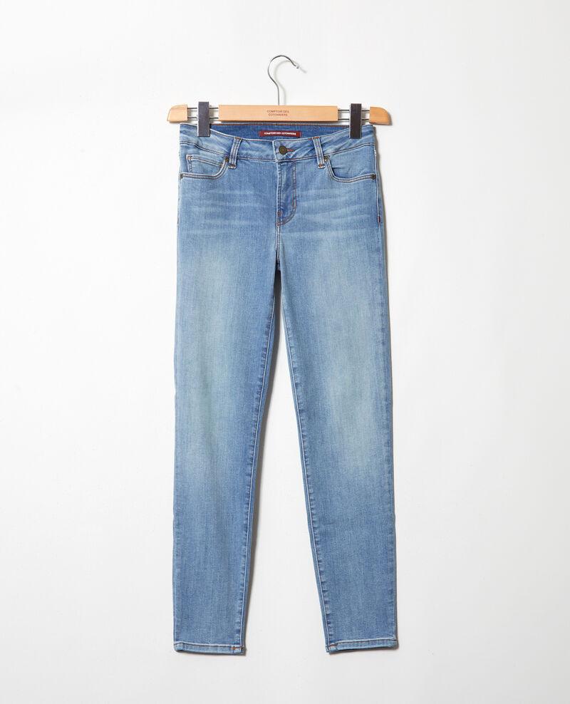 Skinny-Jeans mit 7/8-Länge Indigo wash Iski