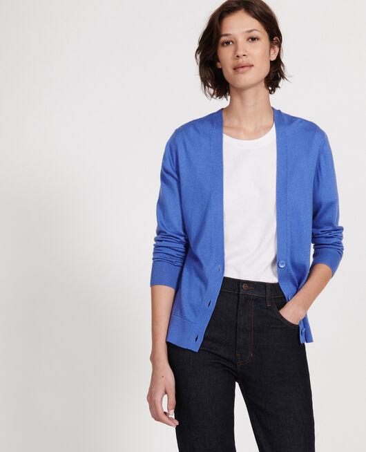 Cardigan AMPARO BLUE