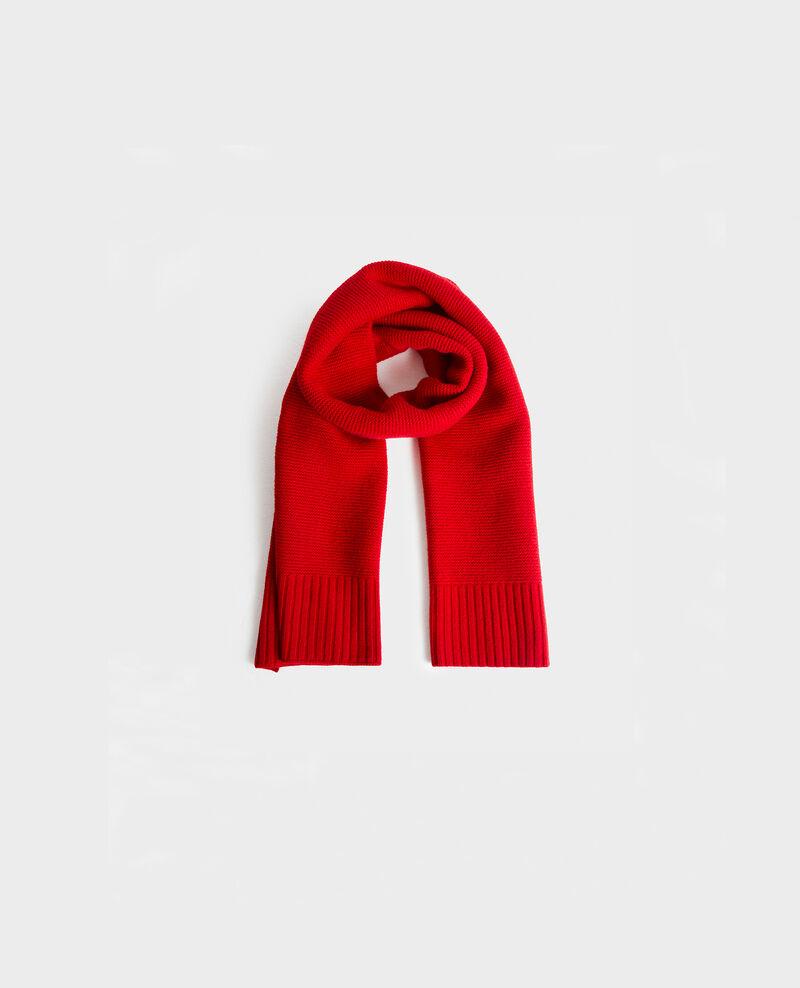 Langer Wollschal Royale red Moiron