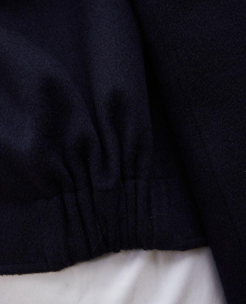 Jacke aus Doubleface-Wolle Night sky Mauguio