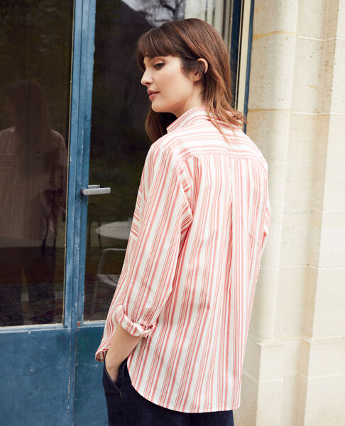 Comptoir des Cotonniers - chemise rayée en coton - 3