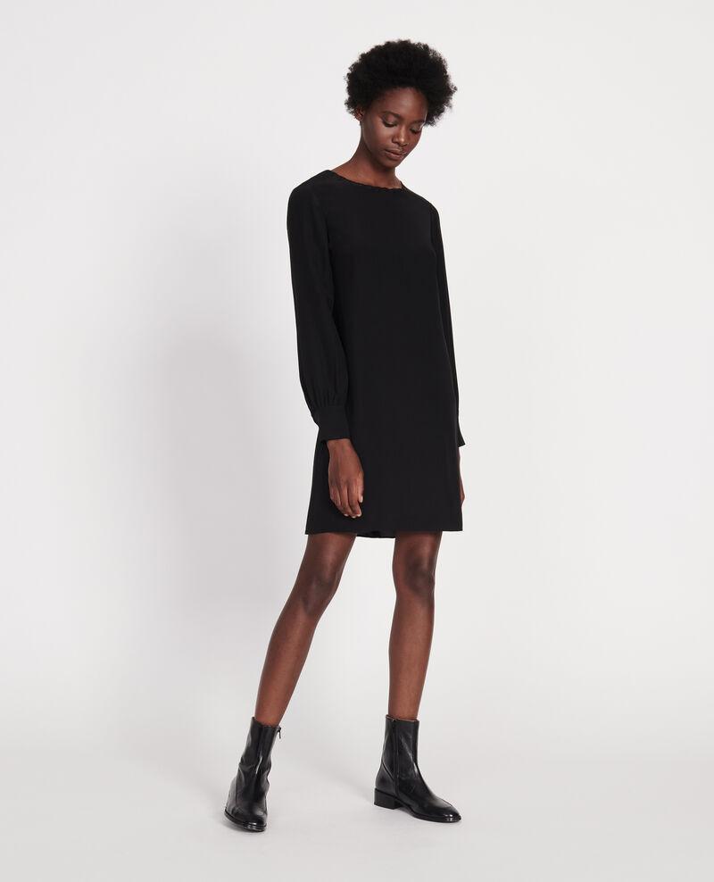 Seidenkleid Black beauty Lamax