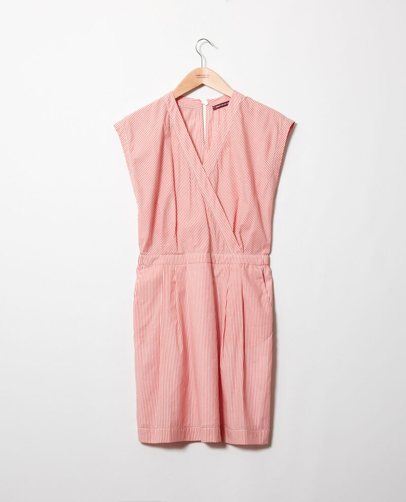 Wickelkleid aus Baumwolle Ss molten lava Janisa