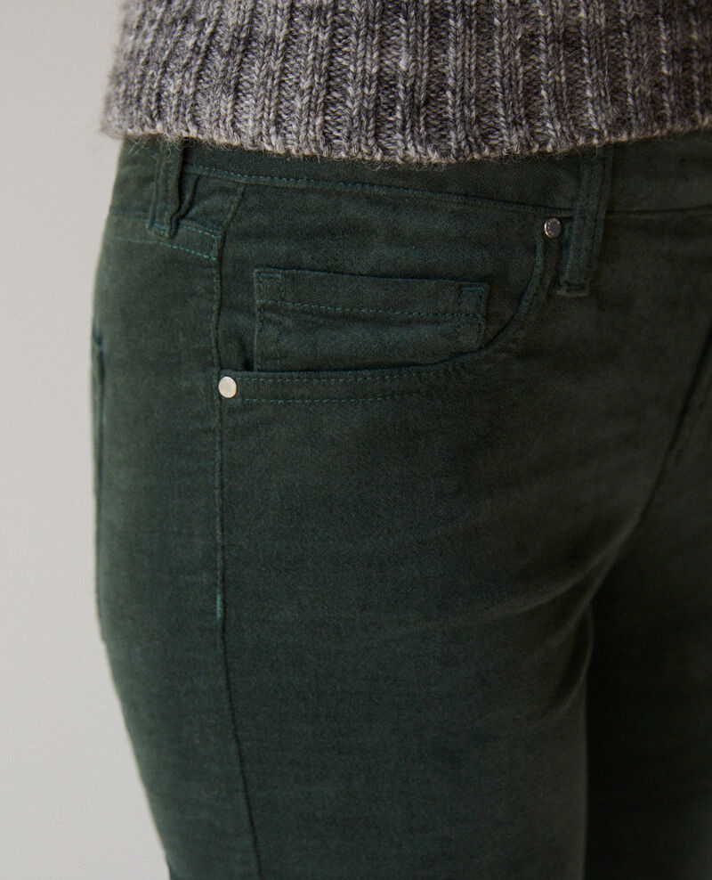 Slim-Jeans Forest green Guillemin
