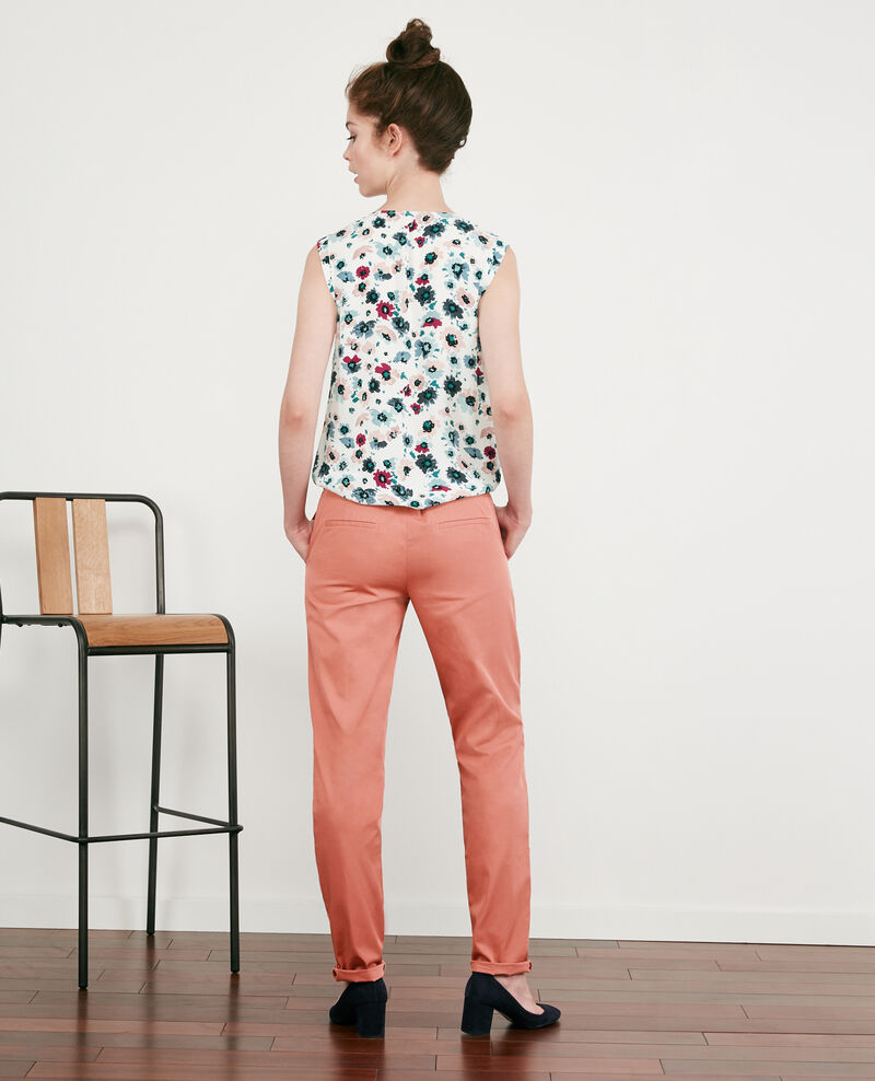 Chino-Hose Rose clay Different
