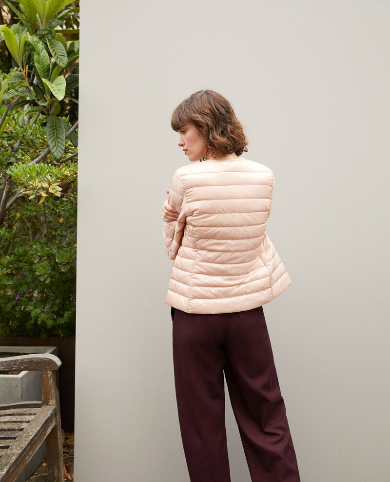 Ultra light Daunenjacke mit Rundkragen Rose Fildown